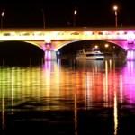 Un puente argentino que contará su historia a través de la luz