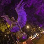 La nueva iluminación del Paseo de la Reforma