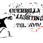 Guerrilla Lighting en Tel Aviv