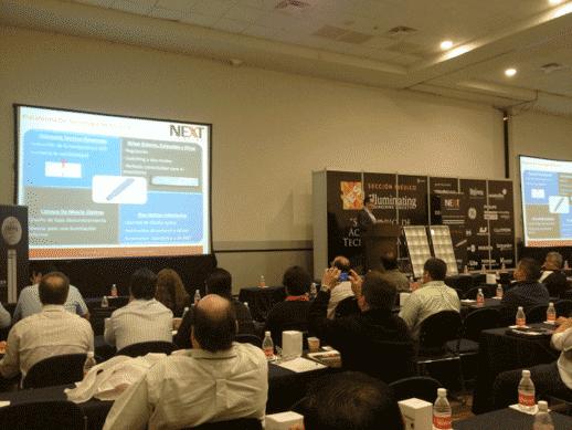 """Conferencia """"Por primera vez un tubo linear LED que cumple con sus promesas"""" Ponente: Rob Leonard – Director Técnico de NEXT Lighting 3er Seminario de Actualización Tecnológica IES Monterrey - Marzo 2013"""