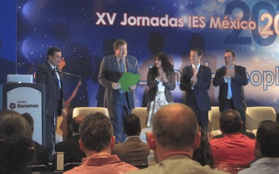 Inauguración Jornadas de iluminación IES México