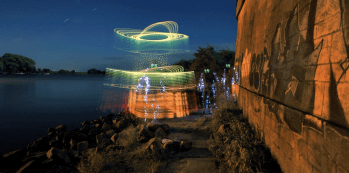 Light art Preformance Photography
