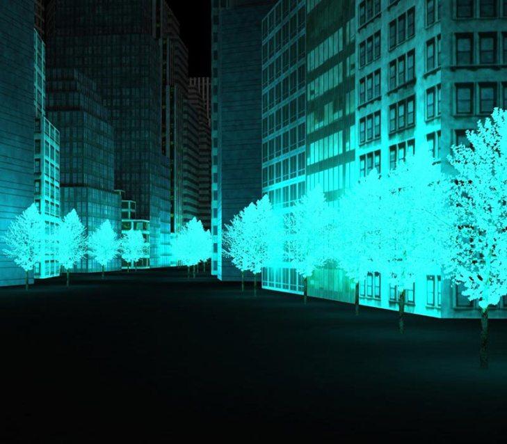 Trees-iluminacion