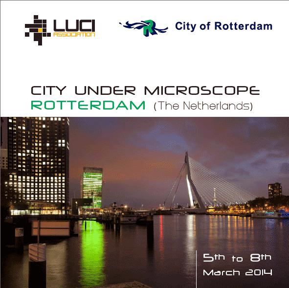 City under microscope