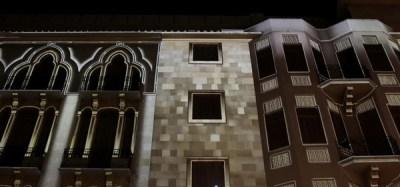 Se agregaron texturas de piedra y se resaltaron detalles de la arquitectura