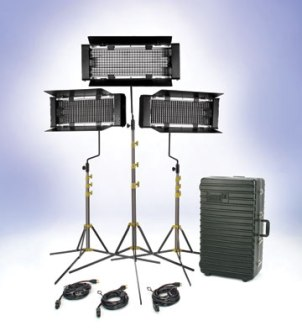 Carrylight TRIO 3 portable studio FLUOTEC