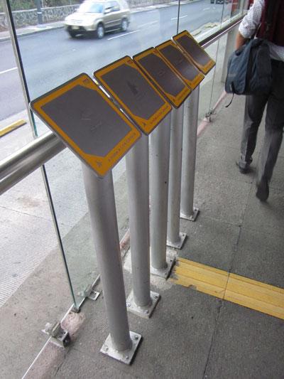 metrobus señalamiento