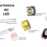Historia del  LED