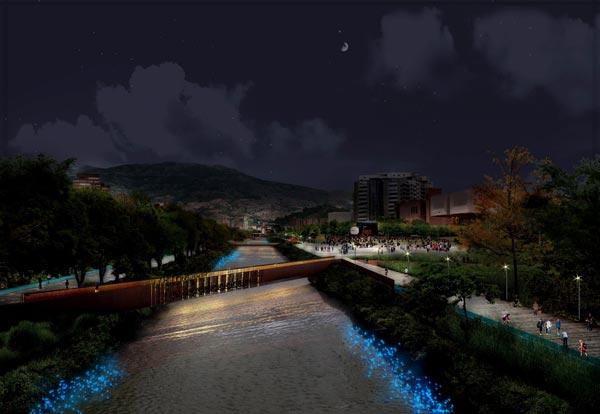 Workshop-PMIL-Medellin---Nightscape-River---Copyright-Diana-Mazuera