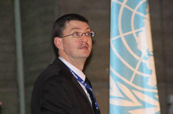 John Dudley, Presidente del consejo del Año Internacional de la Luz