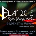 Dan a conocer el programa de conferencias Expo Lighting America 2015