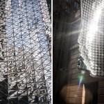 Reflejos de día y de noche en Sydney