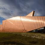 El Museo del fuego y su fachada de cobre