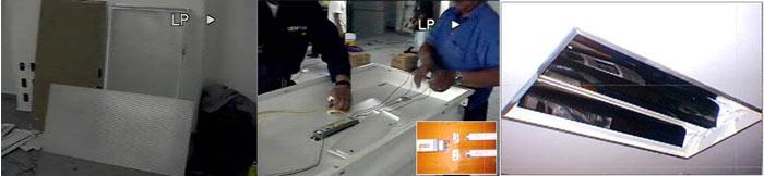 Fig 3. Instalación de los equipos seleccionados para la modernización del inmueble