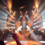 La luz en concierto