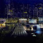 """El arte de usar luz para revivir espacios públicos """"olvidados"""""""