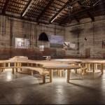 La iluminación en los pabellones de la 16ª Exposición Internacional de Arquitectura de Venecia