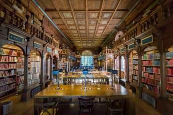 iluminacion de bibliotecas