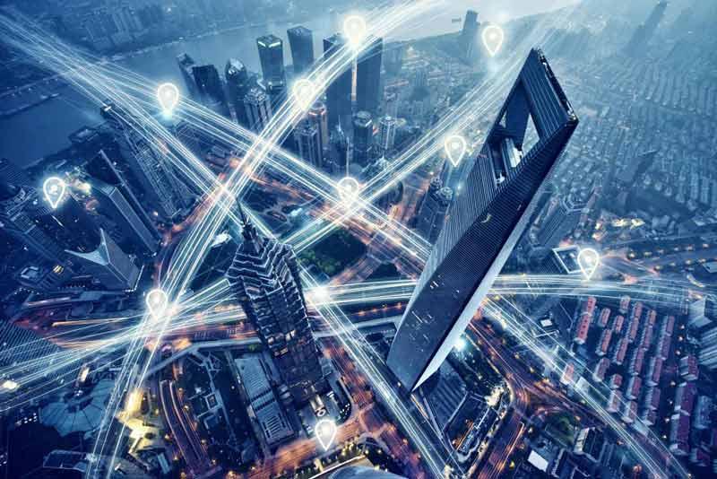 iluminación ciudades inteligentes