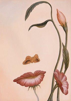 Ilusiones ópticas - Mujer y flores