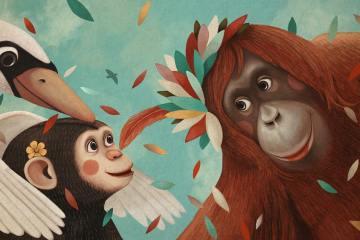 mono y gorila