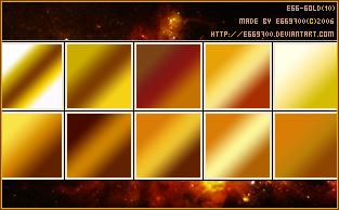 gradient gold