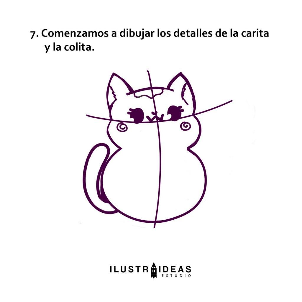 Aprende a dibujar un gatito