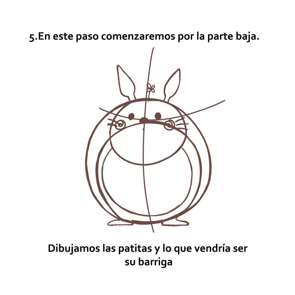 Aprende a dibujar a Totoro