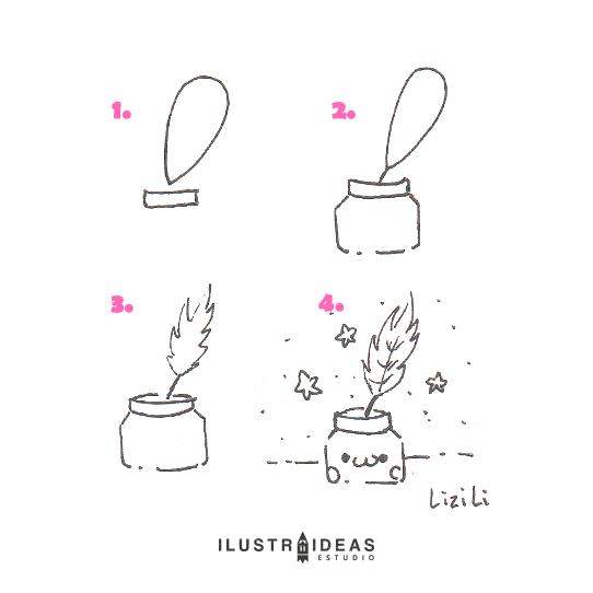 8 dibujos fáciles para principiantes_kawaii