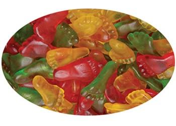 Trolli Gummy Feet 100g