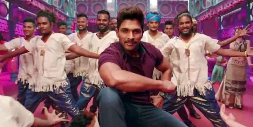 BLOCKBUSTER Telugu song lyrics |AlluArjun