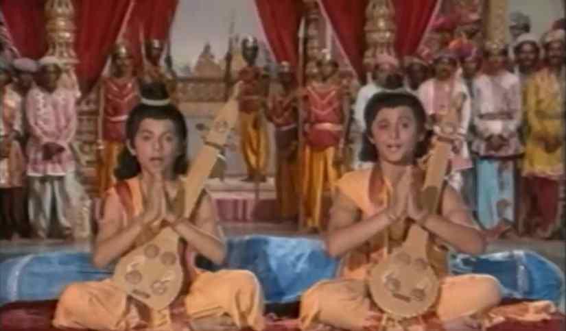 Hum katha sunate English/Hindi lyrics  Ramayan Song