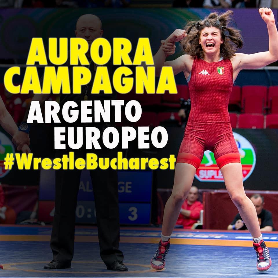 Aurora Campagna, argento europeo 2019