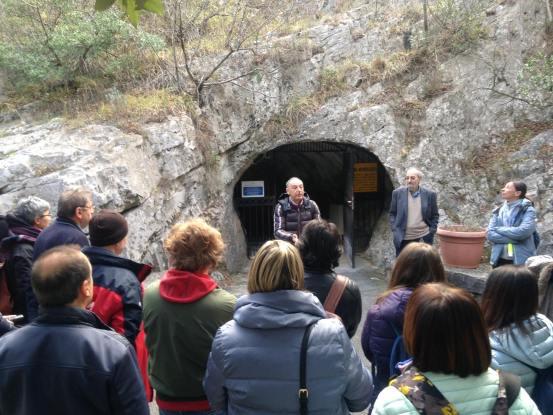 ingresso Grotte di Toirano