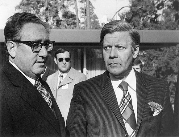 Henry Kissinger e Helmut Schmidt