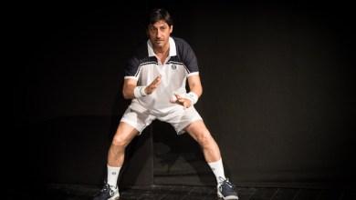 Solfrizzi interpreta Federer