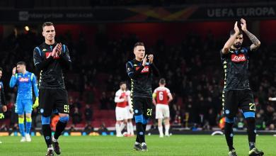 Europa League -Arsenal FC vs SSC Napoli