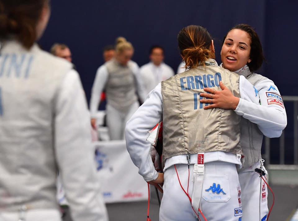 fioretto a squadre femminile
