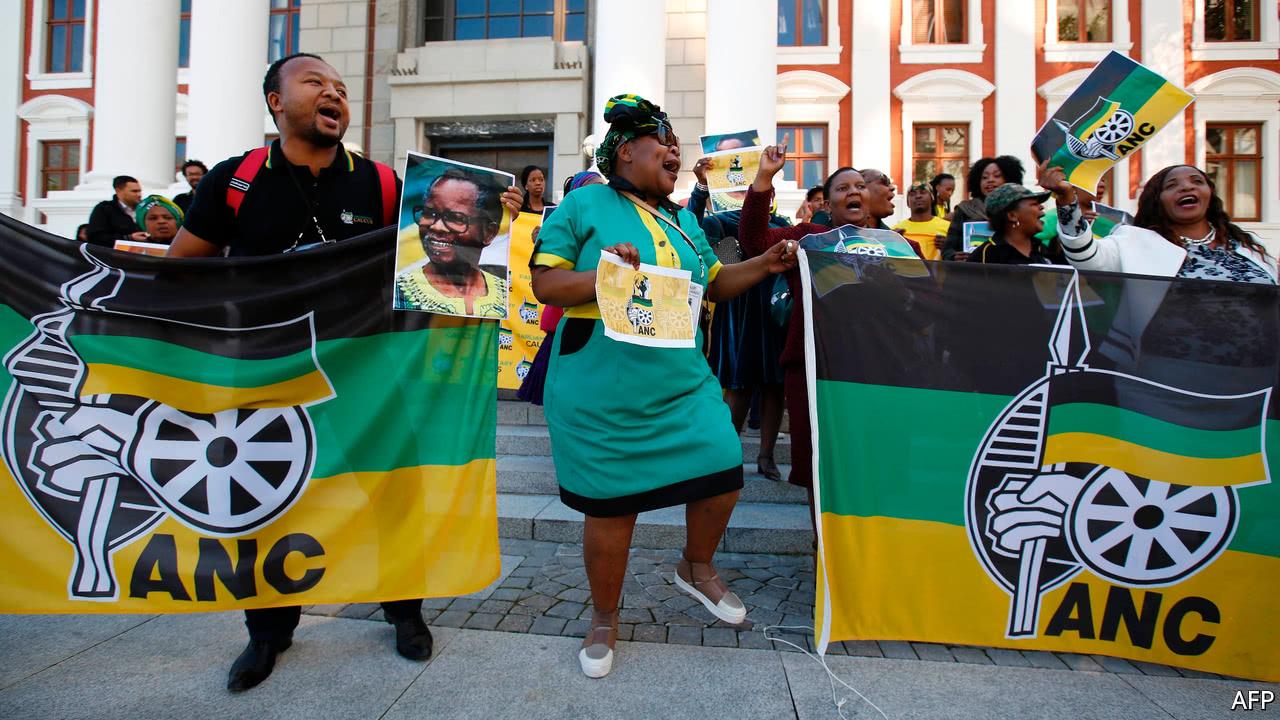 Sudafrica: il partito al governo ha vinto le elezioni parlamentari