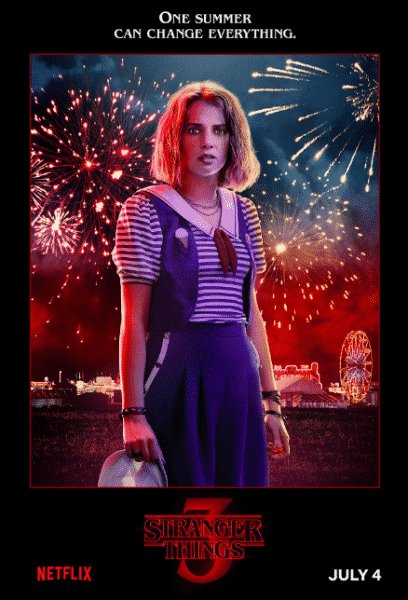 Stranger Things 3: i poster