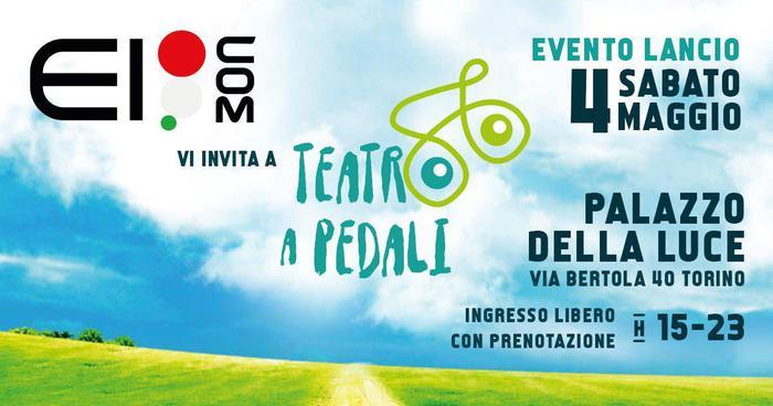 locandina teatro a pedali