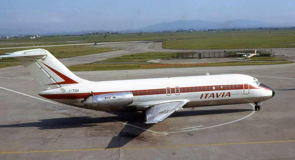Il Dc9 Itavia prima del disastro aereo, strage di ustica