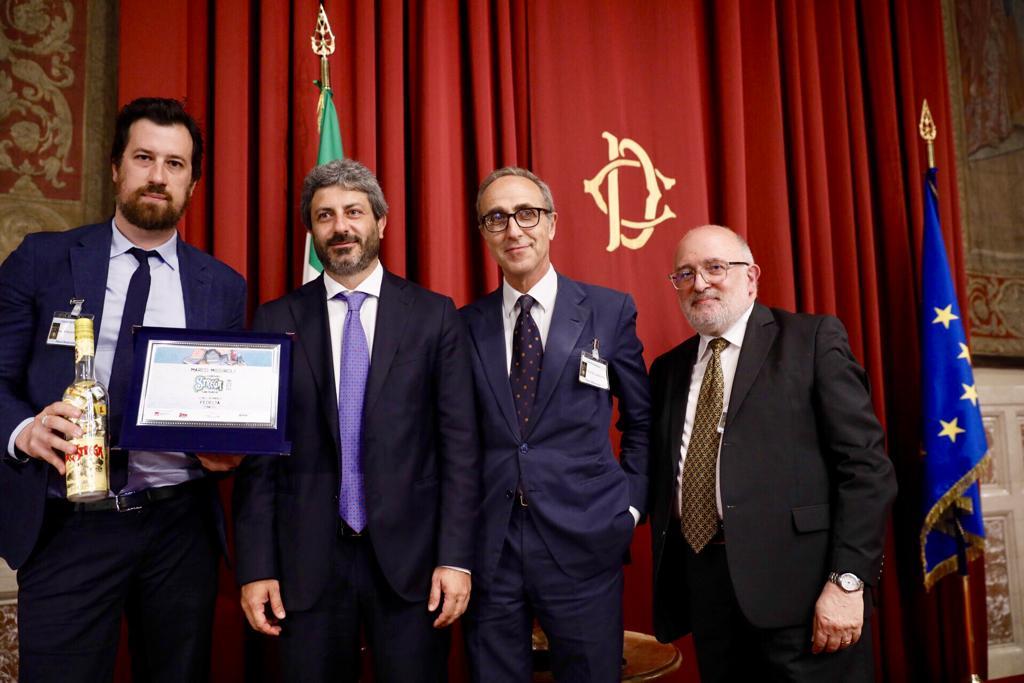 Premiazione - Marco Missiroli, vincitore del Premio Strega Giovani 2019
