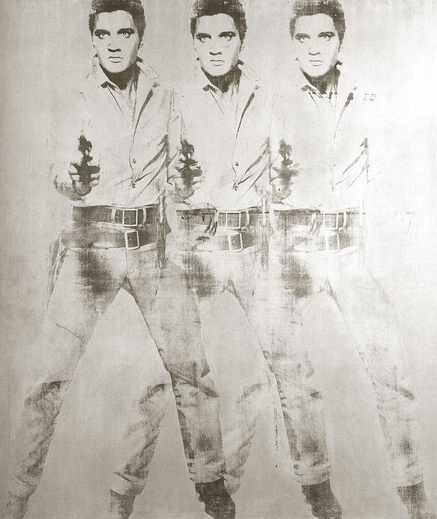 Triple Elvis Andy Warhol