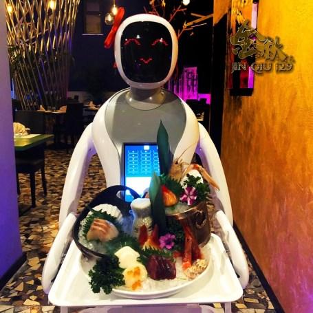 Amy, la cameriera-robot