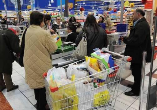 sacchetti plastica per spesa supermercato, reti in cotone carrefour