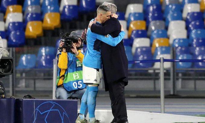 Gattuso Ancelotti Napoli
