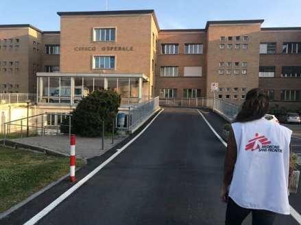 ospedale codogno reparto Covid-free