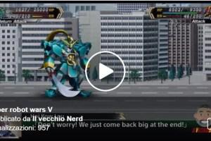 Super Robot Wars V. Finalmente in inglese il gioco dei nostri sogni
