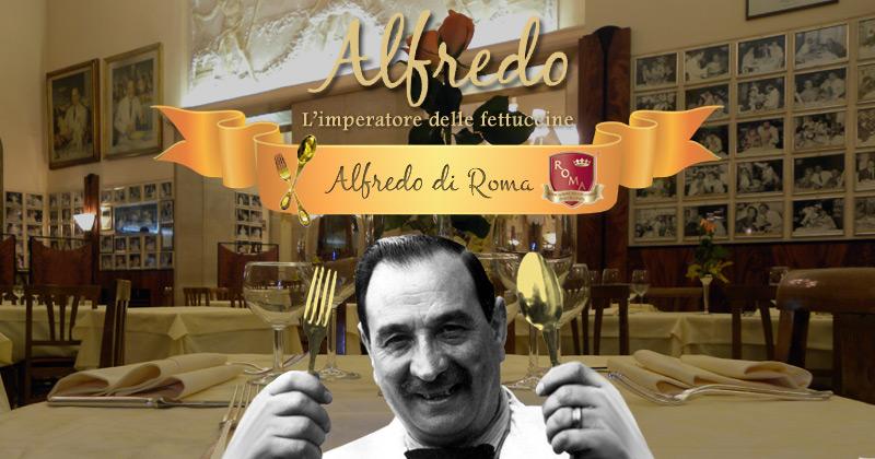 Image result for Il Vero Alfredo – Alfredo di Roma